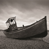 Buy canvas prints of Dungeness Boat by Rob Laker