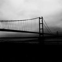 Buy canvas prints of Humber Bridge by Naufragus Simia
