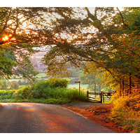 Buy canvas prints of Mickleton by Andrew Roland