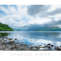 Buy canvas prints of Derwent Water by Andrew Roland