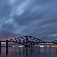 Buy canvas prints of Forth rail bridge by James Marsden