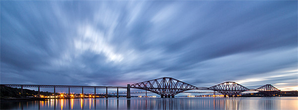 Forth rail bridge Canvas Print by James Marsden