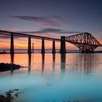 Buy canvas prints of Forth rail bridge by James Marsden