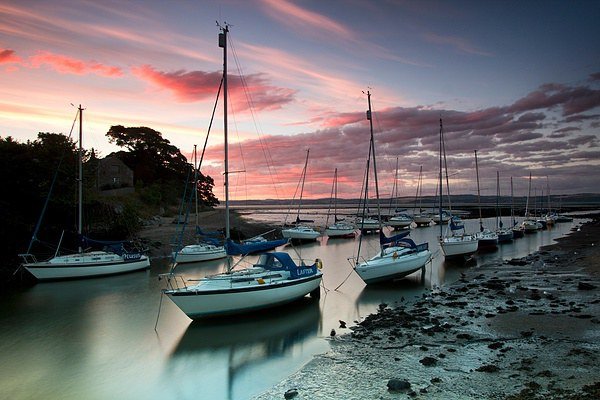Cramond sunset Canvas Print by James Marsden