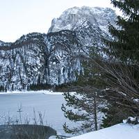 Buy canvas prints of  Snowy mountains by Chiara Cattaruzzi
