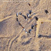 Buy canvas prints of Broken heart by Kathleen Smith (kbhsphoto)