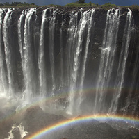 Buy canvas prints of Victoria Falls by peter schickert