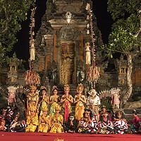 Buy canvas prints of  Bali dancer Ubud, Bali by peter schickert