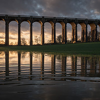 Buy canvas prints of Ouse Valley Viaduct by Sue MacCallum Stewart