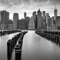 Buy canvas prints of Gotham City New York City by Susan Candelario