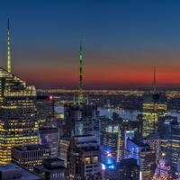 Buy canvas prints of New York City Midtown by Susan Candelario
