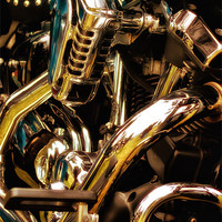 Buy canvas prints of Motorcycle Engine and Chrome by Jay  Lethbridge