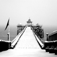 Buy canvas prints of Clevedon Pier by Anthony Palmer-Greene
