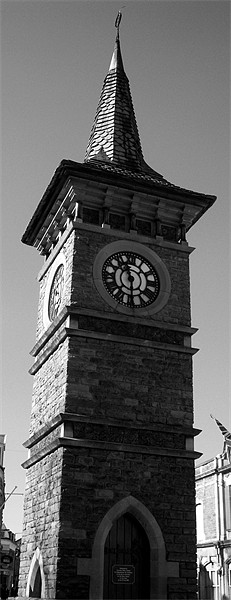 Clock Tower Canvas print by Anthony Palmer-Greene