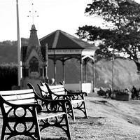 Buy canvas prints of Clevedon Seafront by Anthony Palmer-Greene
