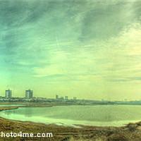 Buy canvas prints of Waterloo Marina Panoramic... by John Wain