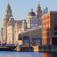Buy canvas prints of World famous Three Graces by John Wain