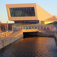Buy canvas prints of The Museum of Liverpool by John Wain