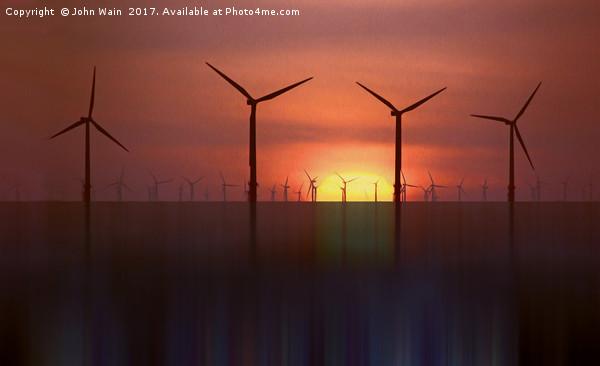 Clean Energy (Digital Art) Canvas print by John Wain