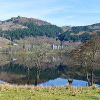 Buy canvas prints of Loch Achry Trossachs by jim scotland fine art