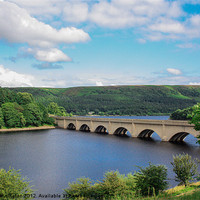 Buy canvas prints of Ladybower by Kerry Pennington