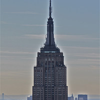 Buy canvas prints of Empire State Building by Paul Hutchings