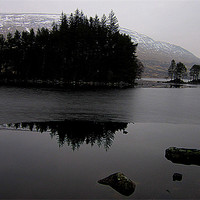 Buy canvas prints of loch reflection by dale rys (LP)