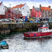 Buy canvas prints of dunbar harbor by dale rys (LP)