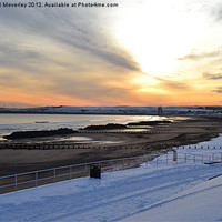 Buy canvas prints of Sky, Sea, Sand & Snow by Michael Moverley