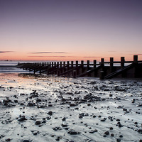 Buy canvas prints of  Sunrise Aberdeen Beach by Michael Moverley