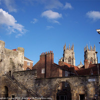 Buy canvas prints of St Leonard's Place, York by Stephen Conroy