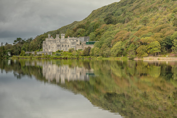 Kylemore Abbey Canvas Print by Jed Pearson