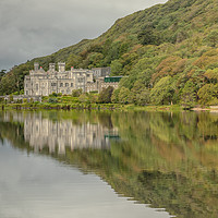 Buy canvas prints of Kylemore Abbey by Jed Pearson
