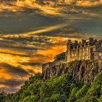 Buy canvas prints of Stirling Castle Scotland by Scotland In Pictures  by Tylie Duff