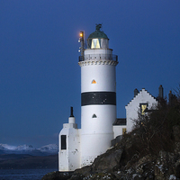 Buy canvas prints of  Cloch Lighthouse Gourock by Scotland In Pictures by Tylie Duff