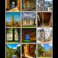 Buy canvas prints of Glasgow University Collage by Scotland In Pictures
