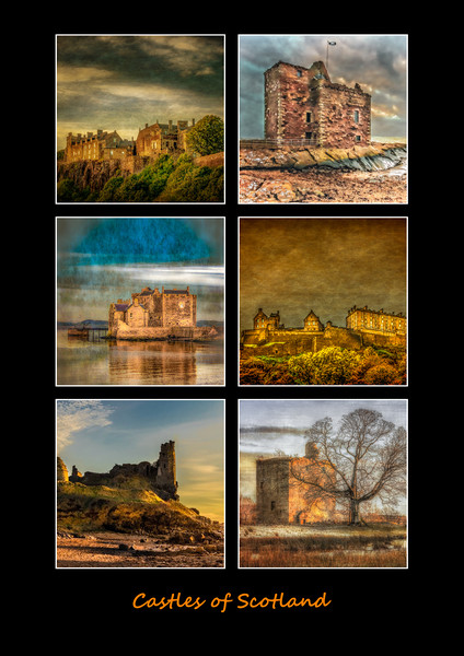 Castles of Scotland Canvas print by Scotland In Pictures
