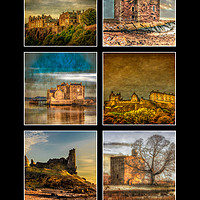 Buy canvas prints of Castles of Scotland by Scotland In Pictures