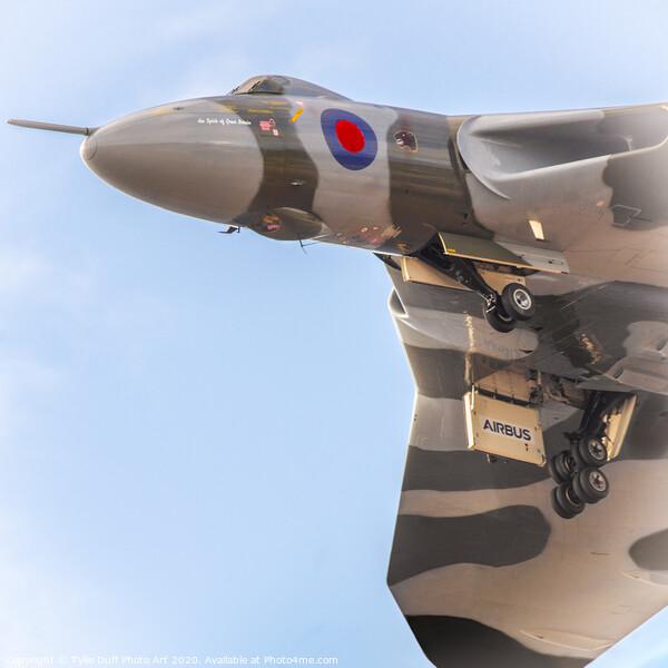 Avro Vulcan Bomber Framed Print by Tylie Duff Photo Art