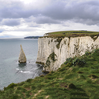 Buy canvas prints of Old Harry Rocks, Dorset by Brian Pierce