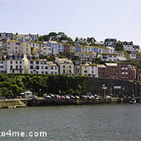 Buy canvas prints of Brixham Village by Lee Harris