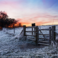 Buy canvas prints of Winter Sunrise by UK Landscape Canvas by Graham Custance