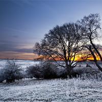 Buy canvas prints of Winter Sunrise by UK Landscape Canvas by Graham Custance