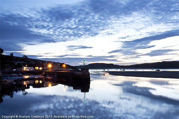 Padstow Harbour, Cornwall Canvas print by UK Landscape Canvas by Graham Custance