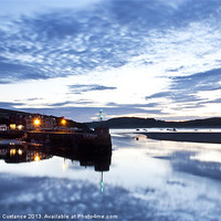 Buy canvas prints of Padstow Harbour, Cornwall by UK Landscape Canvas by Graham Custance