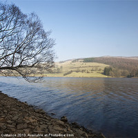 Buy canvas prints of Ladybower Reservoir by UK Landscape Canvas by Graham Custance