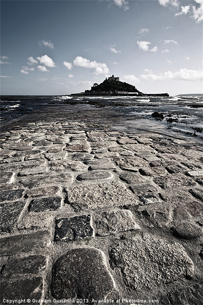 St Michaels Mount Canvas print by UK Landscape Canvas by Graham Custance