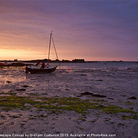 Buy canvas prints of Jersey Sunrise by UK Landscape Canvas by Graham Custance