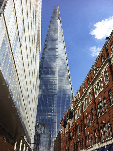 The Shard, London Canvas print by UK Landscape Canvas by Graham Custance