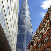 Buy canvas prints of The Shard, London by UK Landscape Canvas by Graham Custance